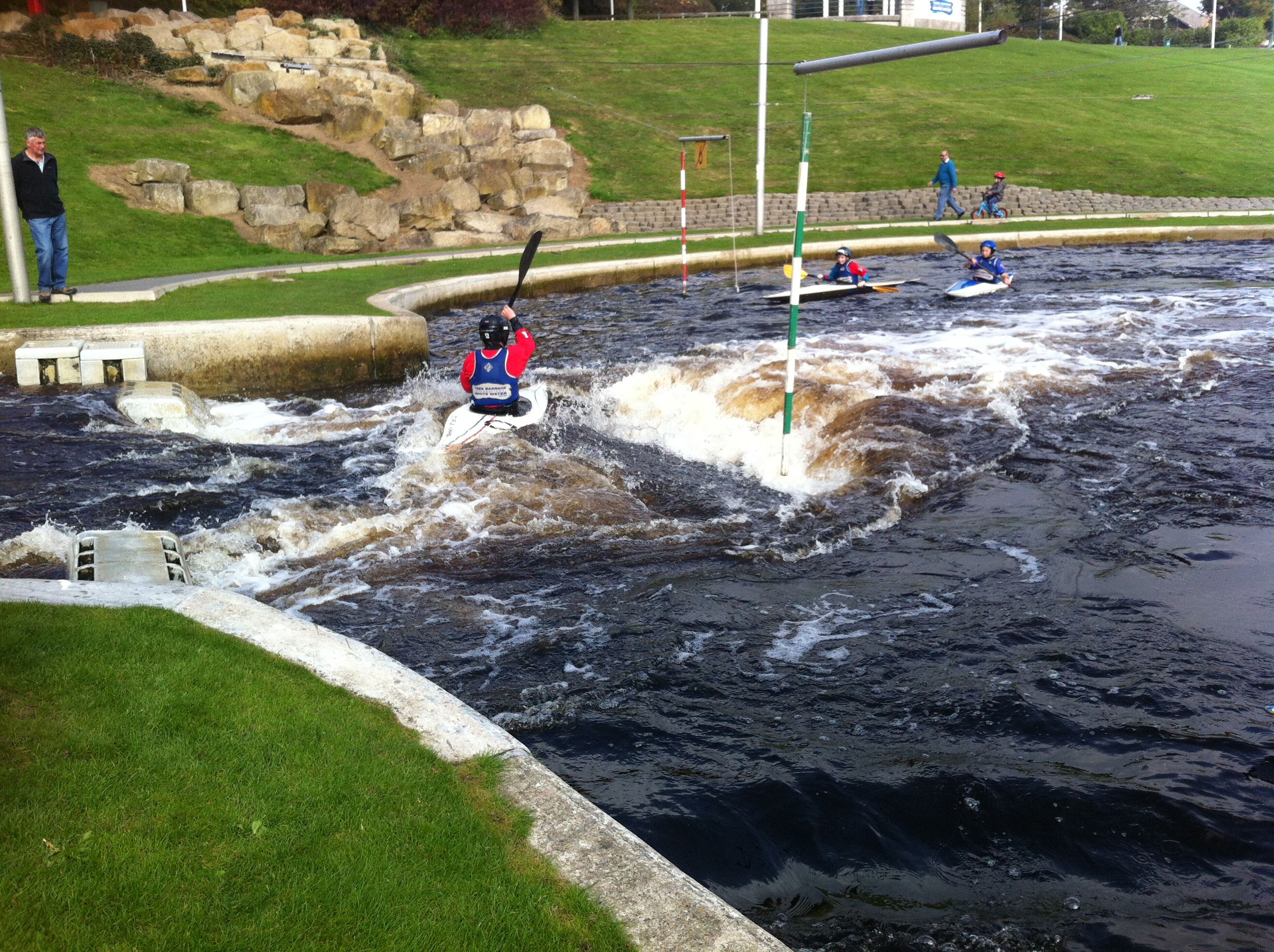 BC Teesside Slalom Training Water Slots