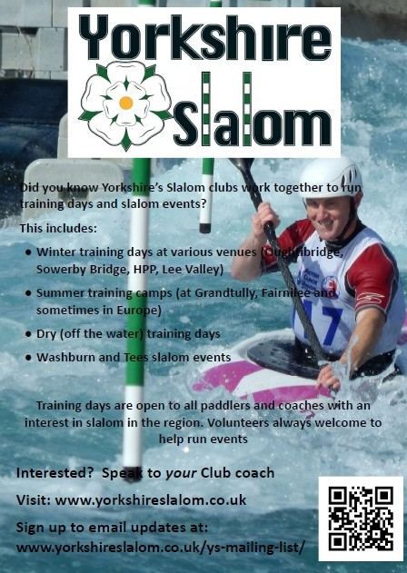 Help spread the word about Yorkshire Slalom